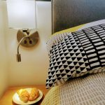 Beside lamps with reading light and USB ports for easy charging of devices
